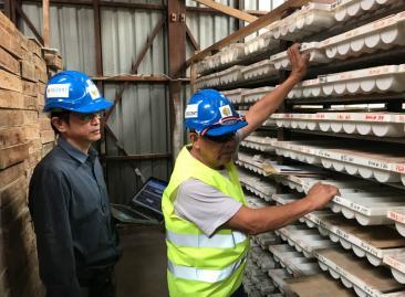 Bezant Resources Core shed Mankayan